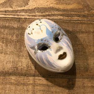 Vintage 1980s Face Mask Dish